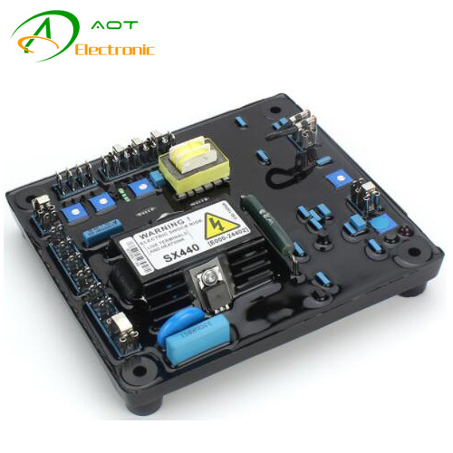 Generator Automatic Voltage Control Board AVR SX440 for Brushless Alternator