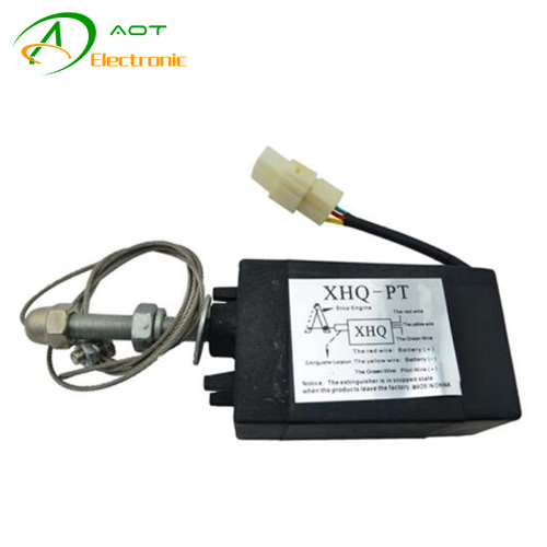 Diesel Engine Generator Parts Electromagnetic Valve Stop