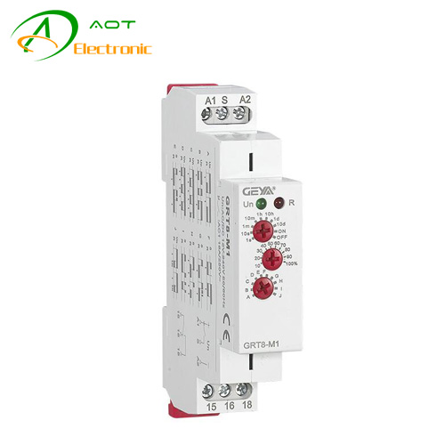 Multi Function Time Relay AOT-T8-M Series