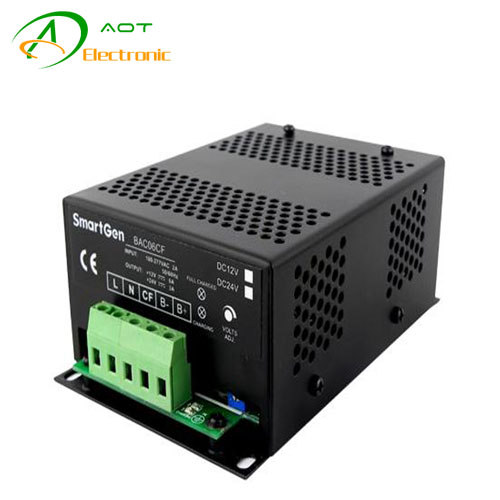 12V6A 24V3A Smartgen Diesel Generator Battery Charger with Charging Failure Output