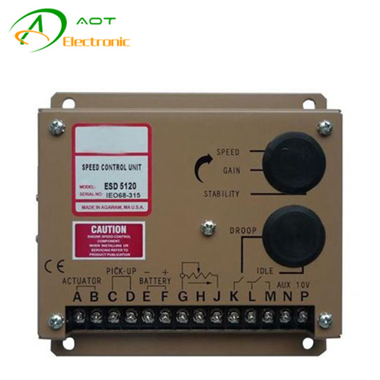 Diesel Generator Speed Control Unit ESD5120 Electronic Controller Governor