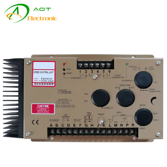 Electric Control Speed Governor ESD5330 for Diesel Generator