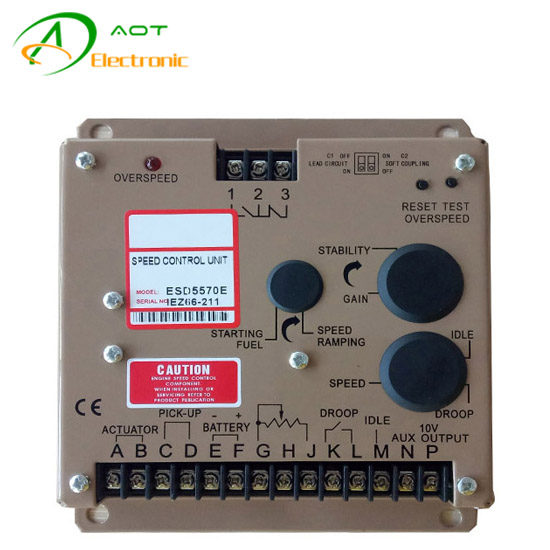Diesel Engine Governor Speed Control System ESD5570E for Generator