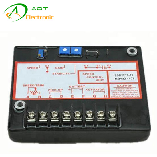 Diesel Generator Electronic Governor Speed Control Unit ESD2210-12