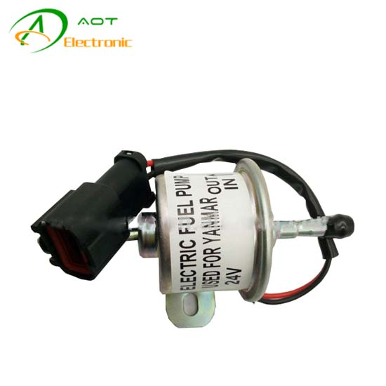 Generator Solenoid 4TNV94 129612 52100 12V Excavator Electric Parts Fuel Pump 129612-52100​