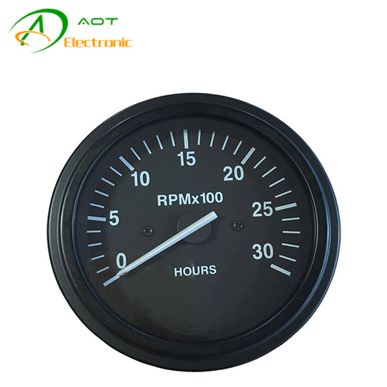 Generator Parts Digital Tachometer Speedometer RPM Meter 24V Gauge 3031734
