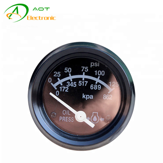 Diesel Engine Generator Parts Oil Pressure Gauge 3015232