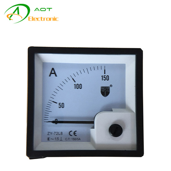 0-150A Analog Ampere Meter​ for Diesel Genset