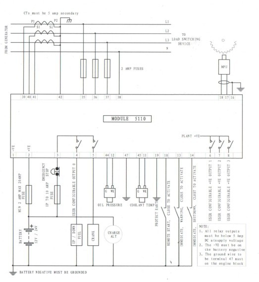 caterpillar voltage regulator wiring diagram generator control module dse5110  generator control module dse5110